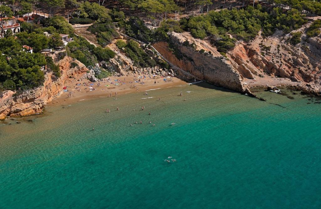 Cala de Penya Tallada. Salou, Tarragonès, Tarragona