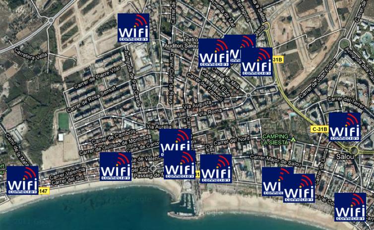 Wifi Salou 2017