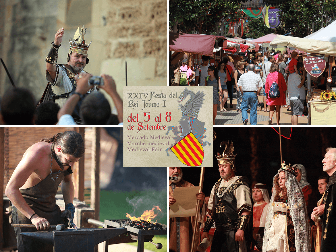 Discover the past of Salou with the 24th King Jaume I